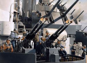 40 MM Pom Pom Gun