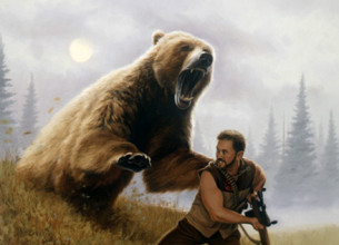 Adventure Team Grizzly Bear Attack