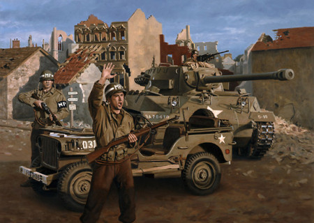 WWII Military Police in Europe